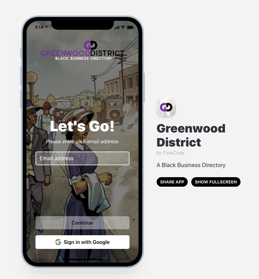 greenwood district app